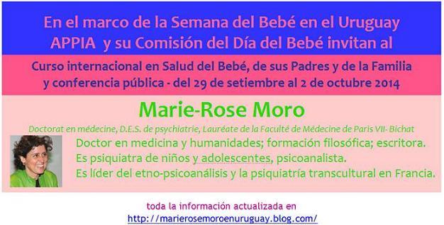 Dra. Marie-Rose MORO en URUGUAY