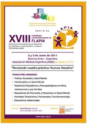 18º Congreso de FLAPIA - 2011/junio